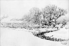 Dodge Macknight, Softly Falling Snow, 1903.