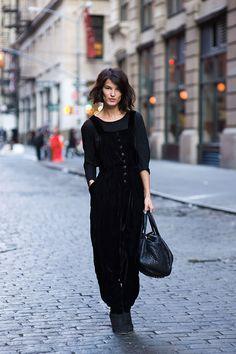 Vanessa Jackman: New York Street Style...Hanneli Mustaparta