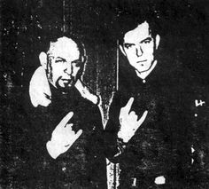 Anton LaVey was, until his recent death, the founder and leader of the Church of Satan. To some he is a dangerous idealist, the enemy of Christianity; Laveyan Satanism, Satanic Rituals, Hollywood Music, Punk, Baphomet, Music Icon, Occult, Black Metal, Pagan