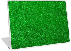 Shiny Metallic All that glitters is not gold especially in shimmering Emerald Green Christmas Sparkly Glitter. Green Christmas, Christmas Holidays, Computer Skins, Glitter Phone Cases, Green Glitter, All That Glitters, Photo Effects, Laptop Skin, Cotton Tote Bags