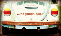 punch buggy no punch back