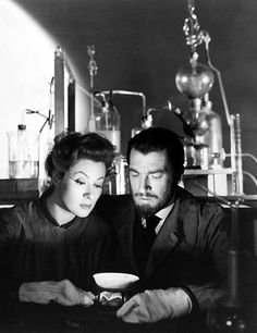 """Madame Curie"" (1943) - Greer Garson and Walter Pigeon"