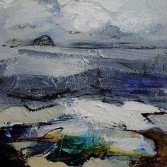 Towards the Bass Rock by Patricia Sadler