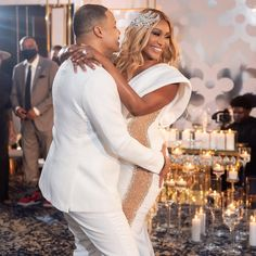 Cynthia Bailey continues to post amazing photos and videos from her and Mike Hill's wedding. She shared some photos and clips from the location,