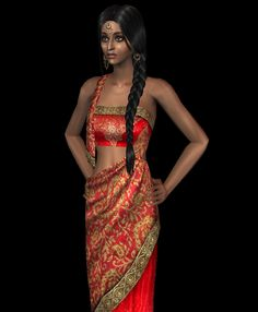 Retexture Indian style clothing