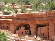 Anasazi (ancient peoples) pueblos can be found in South Utah, New Mexico and Arizona.