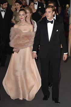 Beatrice Borromeo and Pierre Casiraghi Photos: Rose Ball 2014 In Aid Of The Princess Grace Foundation In Monaco