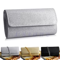 Ladies Special Glitter Evening Shoulder Clutch Purse //Price: $11.95 & FREE Shipping //     #hashtag4