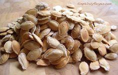 simple roasted pumpkin seed recipe