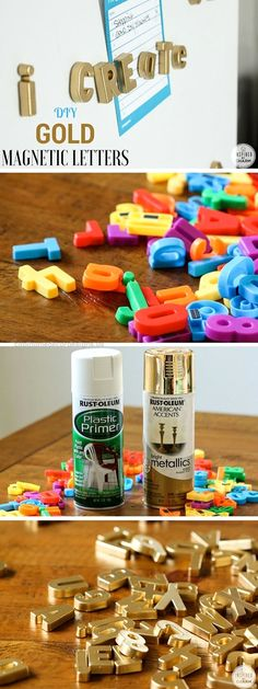 15 Unexpectedly Brilliant Home Decor DIYs Check out the tutorial: #DIY Gold Magnetic Letters Industry Standard Design http://www.coolhomedecordesigns.us/2017/06/11/15-unexpectedly-brilliant-home-decor-diys/
