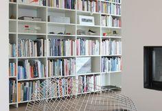 Büchergestell und Regalsystem UPW von Ulrich P. Wieser für Wohnbedarf Basel