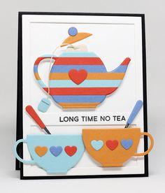 Cup of Tea Stamp Set, Tea Party Die-namics, Essential Cover-Up Vertical Die-namics, Blueprints 13 Die-namics - Jody Morrow #mftstamps