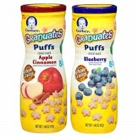 $1.35 Off when you buy any THREE (3) Gerber® Graduates® Puffs @ Target