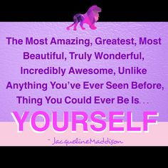 The Most #Amazing, Greatest, Most #Beautiful, Truly #Wonderful, Incredibly #Awesome, Unlike Anything You've Ever Seen Before, Thing You Could Ever Be Is... YOURSELF. ⭐️ #Perfect #soul #truth #unity #charity #true #spiritual #success #spirituality #motivation #knowledge #wisdom #amazing #grace #God #Jesus #HolySpirit #eternal #life #forever #hope #faith #love #believe #BeLOVE