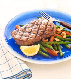 Five Spice Tuna & Sauteed Vegetables #myplate #fish #grill #summer
