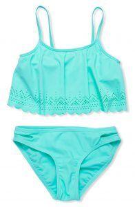 Mermaid aqua bikini on the blog #mermaidstyle #mermaid #littlemermaid #tweenfashion