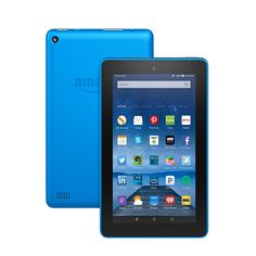 """Fire Tablet, 7"""" Display, Wi-Fi, 16 GB - Includes Special Offers, Blue"""