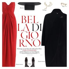 """""""Red Dress"""" by amberelb ❤ liked on Polyvore featuring Karl Lagerfeld"""