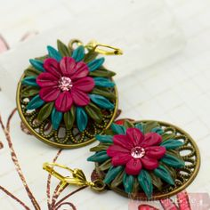 """A Summer Day Dream"" earrings"
