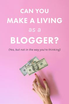 // Can You Still Make a Living as a Blogger? (Short Answer: Yes, But Not in the Way You're Thinking) //