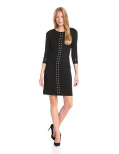 Karen Kane Women's Left Bank Studded Dress « MyStoreHome.com – Stay At Home and Shop
