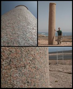 King Solomon had these columns erected on each side of the Red Sea (Egypt & Saudi Arabia). They have been toppled over for hundreds of years but have recently been erected. Going to photography them.