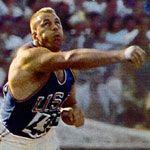 Bill Nieder | Shot Putter, Bill Nieder. Gold in Rome 1960, shot put.