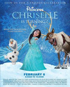A Frozen Celebration — Pretty in Prints Frozen Birthday Invitations, Frozen Themed Birthday Party, Disney Frozen Party, Frozen Birthday Party, 4th Birthday Parties, Party Invitations, Frozen Movie, Anna Frozen, 7th Birthday