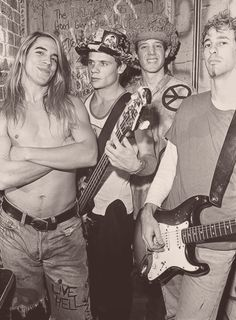 Red Hot Chili Peppers 80's