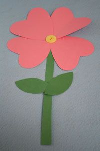 Valentine's Day http://www.allkidsnetwork.com/crafts/valentines-day/heart-flower.asp