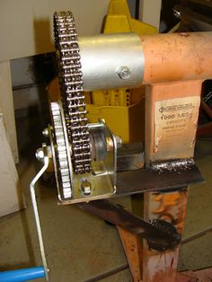 Rotator for engine stand - THE H.A.M.B.