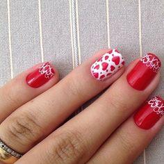 VALENTINE by konadbrasil #nail #nails #nailart