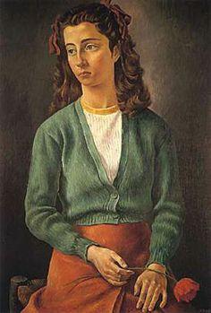 Antonio Berni, Lily, 1943, óleo s/tela, 97 x 67 cm. Museo Nacional de Bellas Artes. Buenos Aires