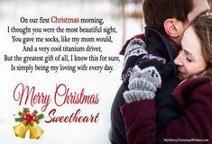 Romantic christmas love poems
