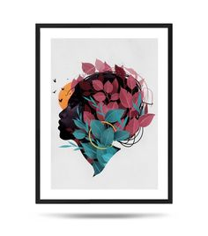 Your place to buy and sell all things handmade Digital Illustration, Freedom, Fine Art Prints, My Arts, Paper, Frame, Flowers, Cards, Painting