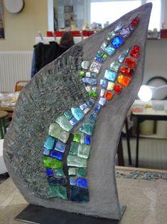 Mosaïque en dalle de verre - Maison de la Mosaïque Contemporaine