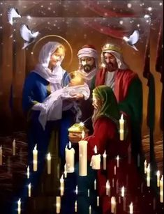 Merry Christmas Gif, Magical Christmas, Christmas Makes, Christmas Music, Christmas Wishes, Beautiful Christmas, Christmas Time, Mother Mary Images, Images Of Mary