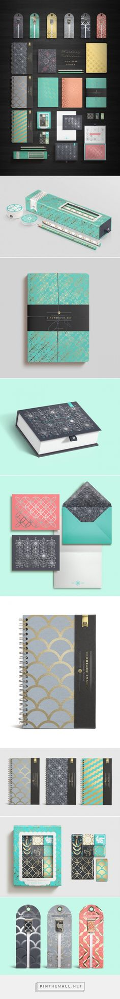 Kortney Collection Packaging by Franklin Mill         on          Packaging of the World - Creative Package Design Gallery - created via https://pinthemall.net