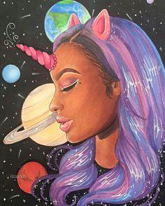Purple Unicorn : Justine Skye @GottaLoveDesss