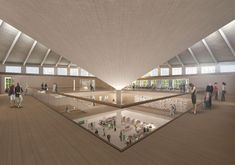 The New Design Museum / John Pawson, OMA, West 8, Arup