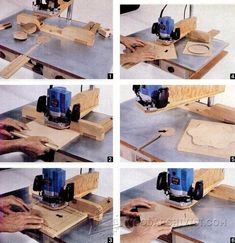 DIY Pin Router - Router Tips, Jigs and Fixtures | WoodArchivist.com