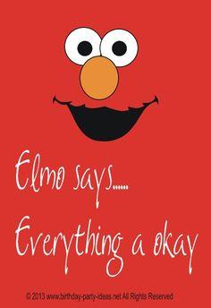 Elmo Birthday Party Ideas #Elmo #Birthday #Party #themed #sesame street