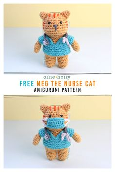 cute Crochet 350717889734942784 - Source by andramrn Crochet Cat Toys, Kawaii Crochet, Crochet Cat Pattern, Crochet Teddy, Cute Crochet, Doll Patterns Free, Crochet Patterns Amigurumi, Free Pattern, Amigurumi Free