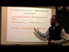 PA Dutch 101: Video 3 - Where you live.m4v