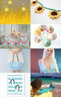 Welcome summer! by Sabrina on Etsy--Pinned with TreasuryPin.com