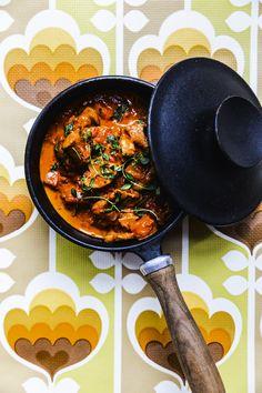 Mørbradgryde Pork Recipes, Low Carb Recipes, Broccoli Pizza, Danish Food, Yummy Food, Tasty, Winter Food, Bacon, Food Inspiration