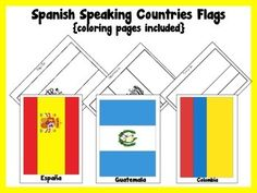 You will find 21 flags that you can use to decorate your classroom and 21 coloring pages that are perfect for your projects.