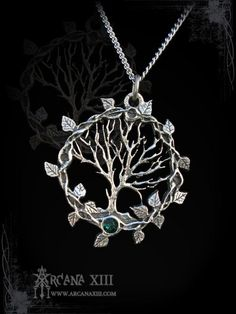 Tree of life pendant, Tree of Gaia, yggdrasil, viking pendant, celtic jewelry, elven necklace, victorian pendant, celtic  pagan