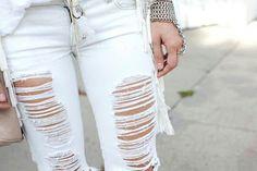 Vou Customizar: Ripped Jeans: Passo a passo para rasgar calça ou shorts
