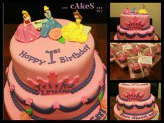 another princesses themed cake